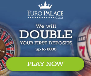 EuroPalace winnings 20 free spins