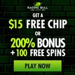Raging Bull Casino 100 free spins no deposit