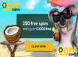 AU 200 free spins and up to $2000 free